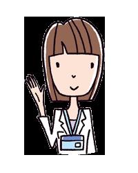 女性医師のイラスト